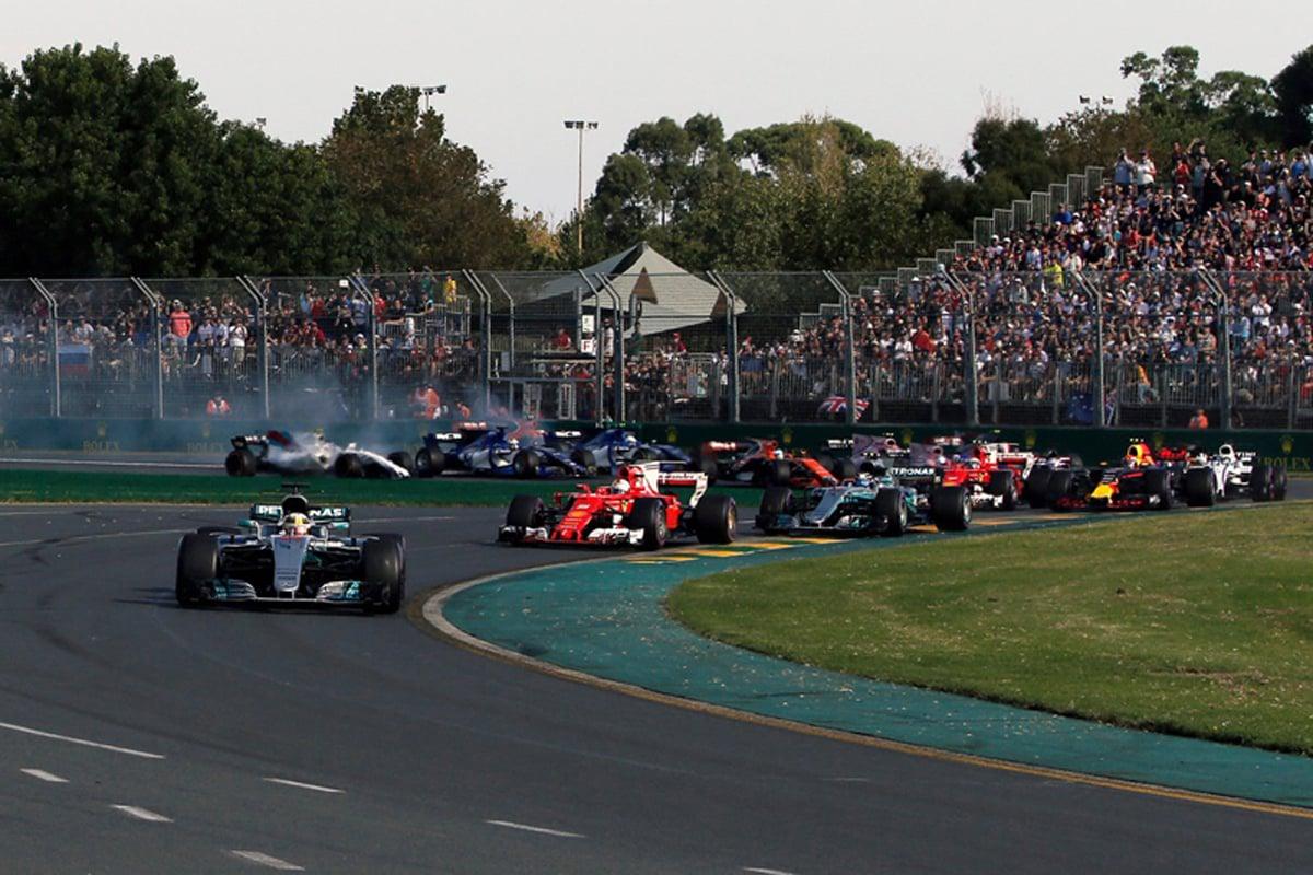 F1 オーストラリア 結果 速報