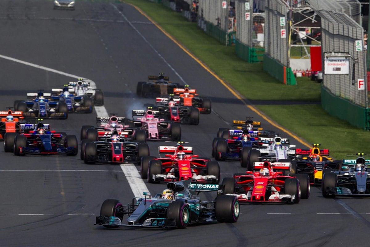 2017 F1中国GP テレビ放送時間&タイムスケジュール