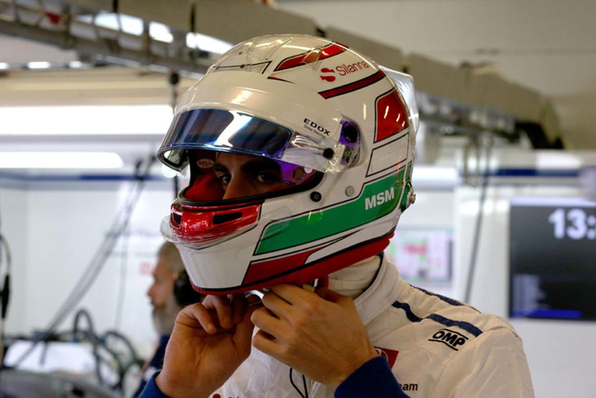 アントニオ・ジョビナッツィ F1 ザウバー