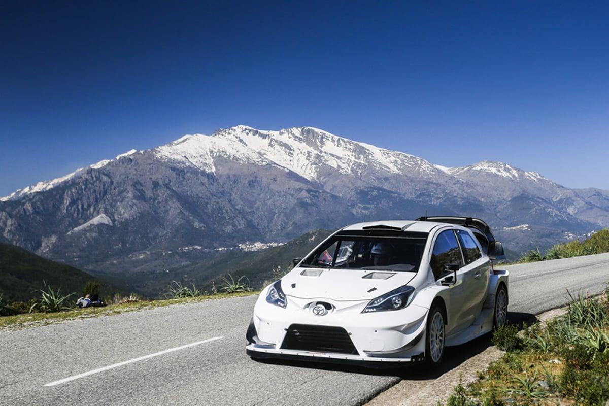 トヨタ WRC ラリー・フランス