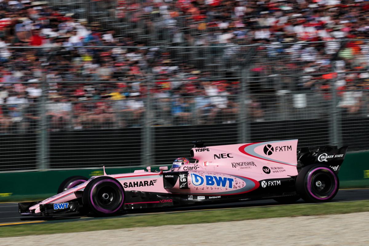 セルジオ・ペレス F1 フォース・インディア