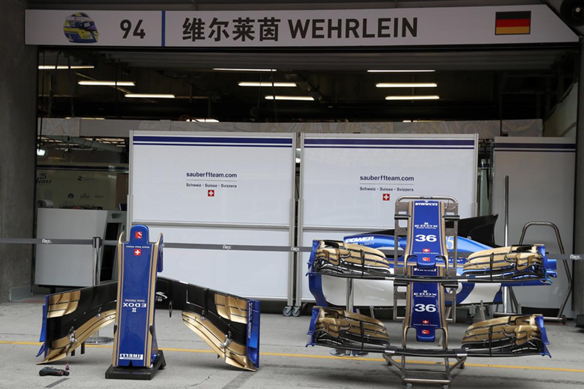 ザウバー F1 パスカル・ウェーレイン