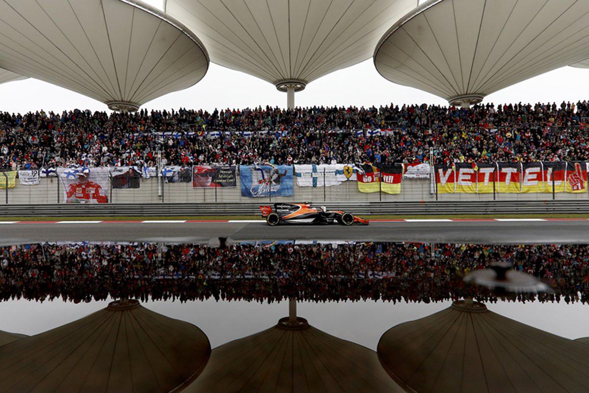ホンダ F1 中国GP
