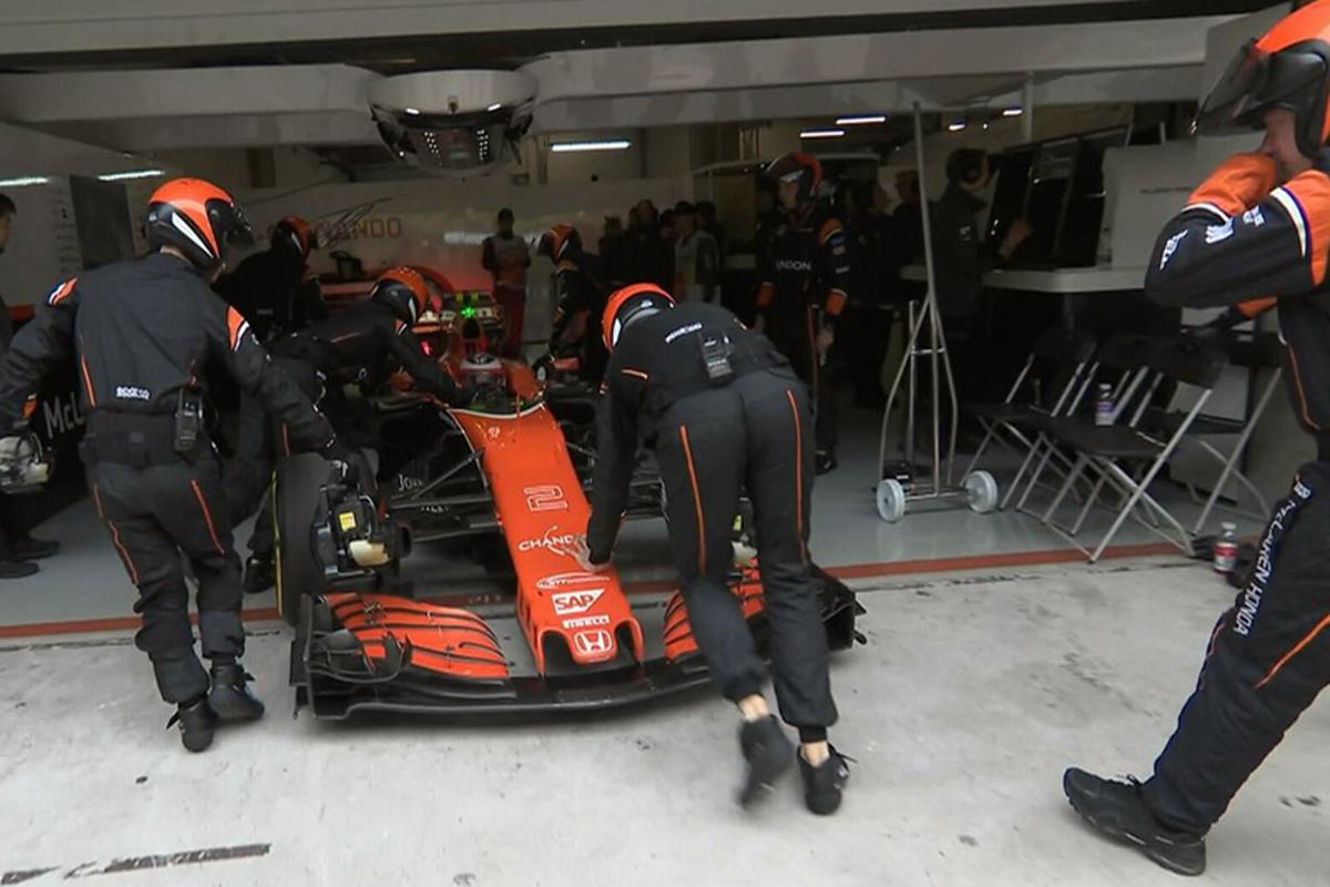 ストフェル・バンドーン F1 マクラーレン・ホンダ