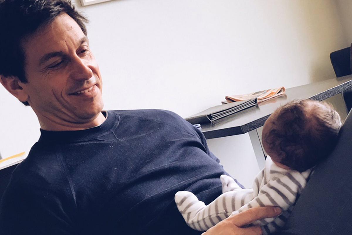 F1 トト・ヴォルフ スージー・ヴォルフ 第1子誕生