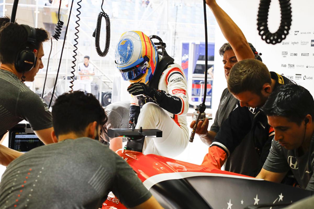 フェルナンド・アロンソ F1バーレーンGP