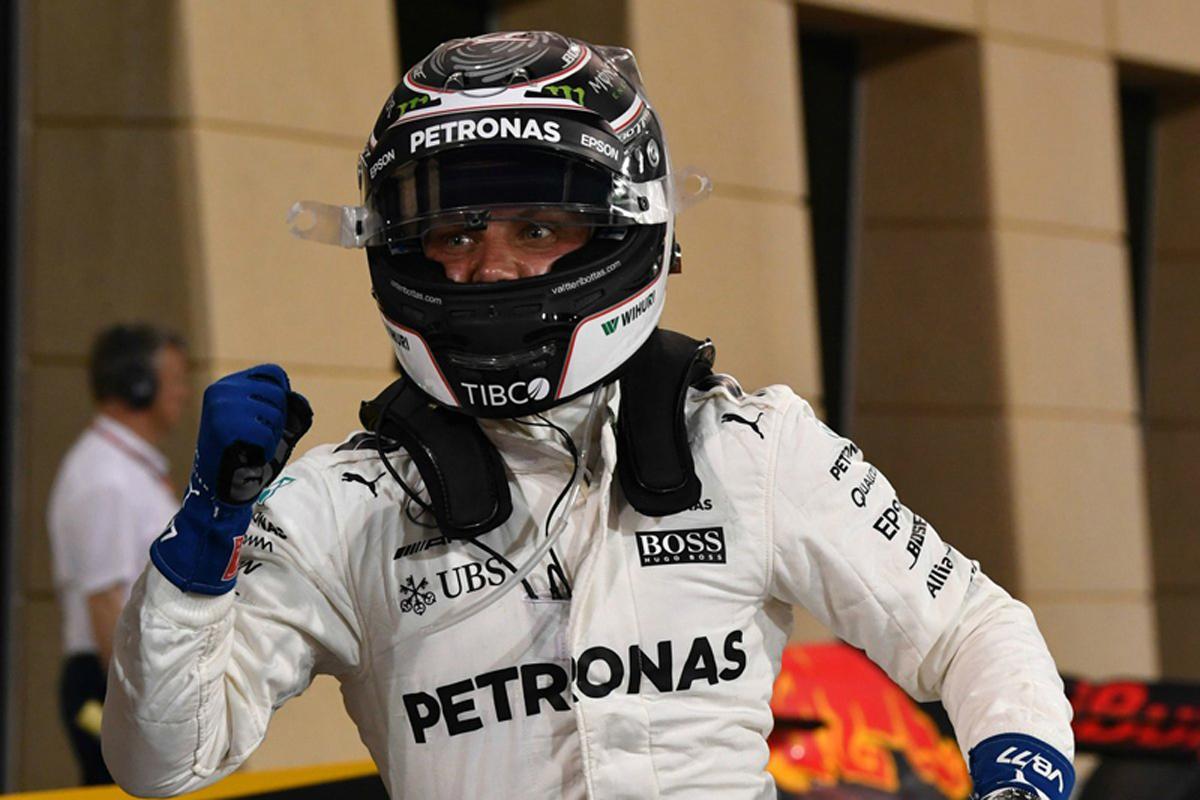 バルテリ・ボッタス F1 初ポールポジション バーレーンGP