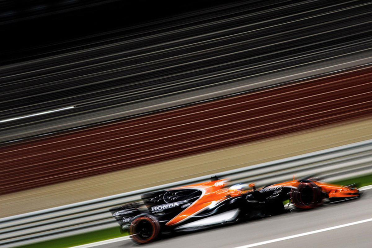 フェルナンド・アロンソ F1 マクラーレン・ホンダ