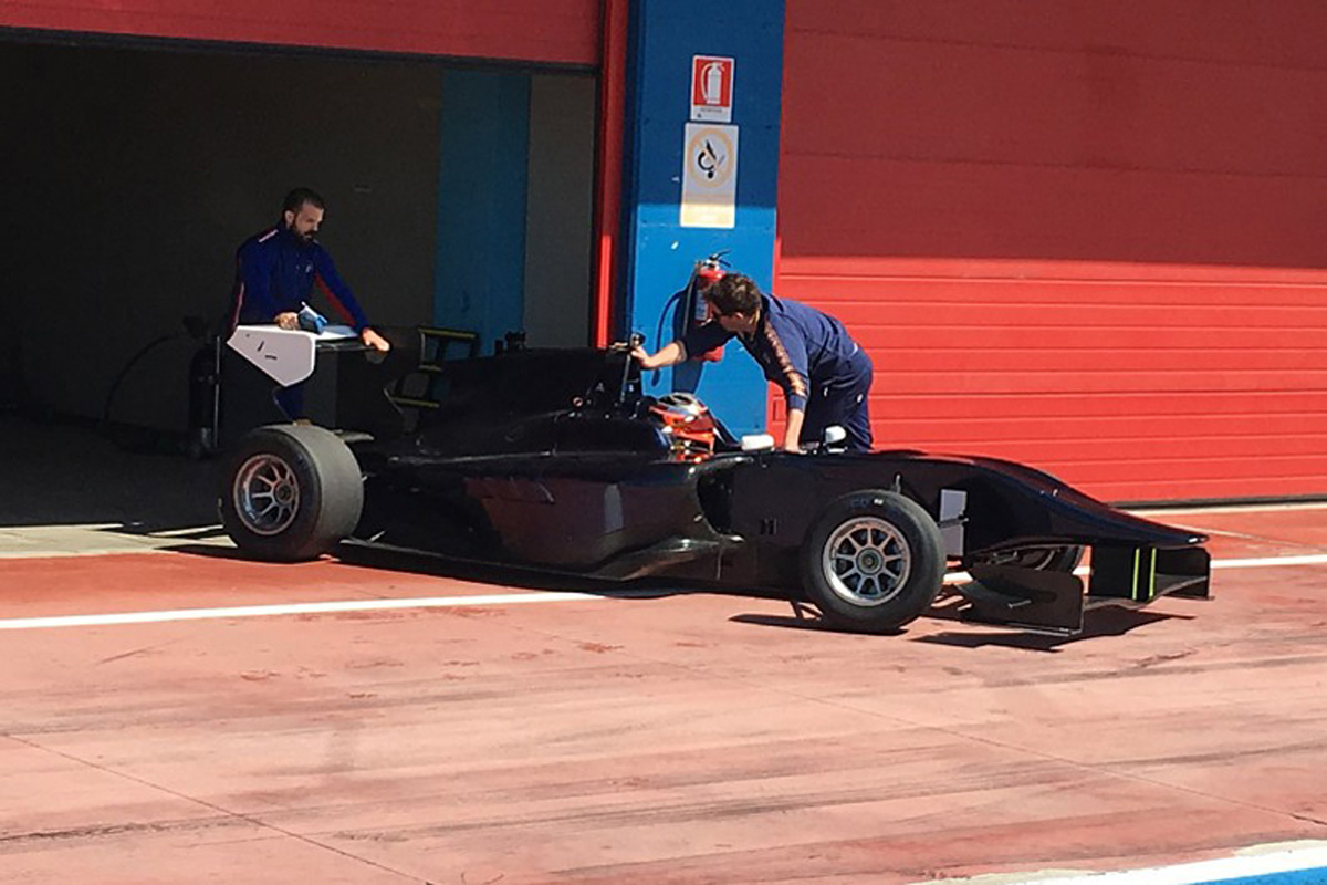 ロバート・クビサ GP3