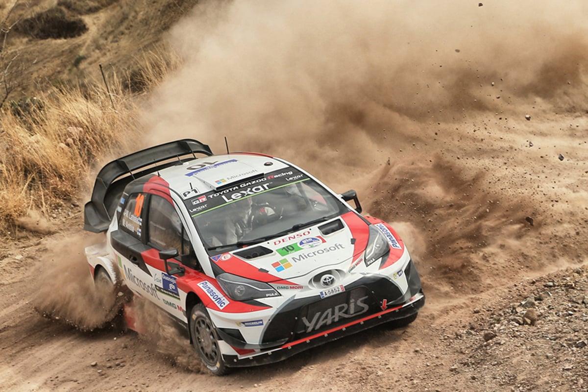 WRC トヨタ