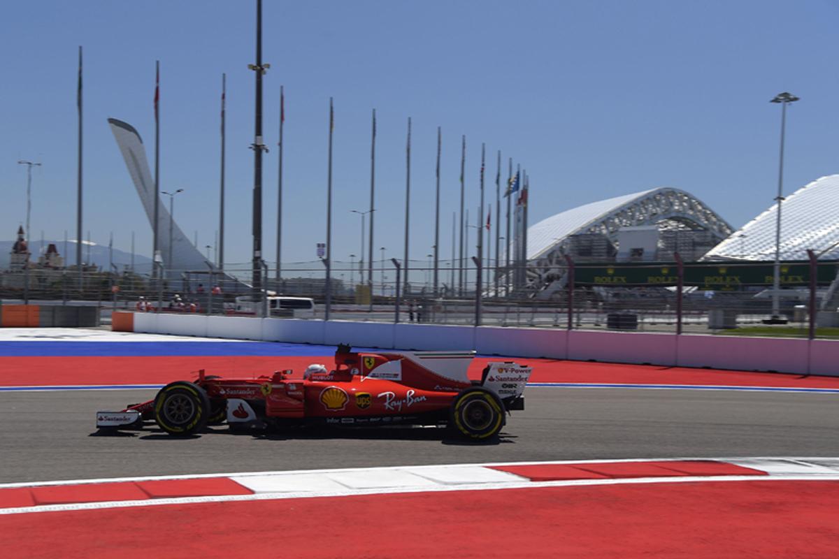 F1 ロシアGP フリー走行2回目 結果 セバスチャン・ベッテル