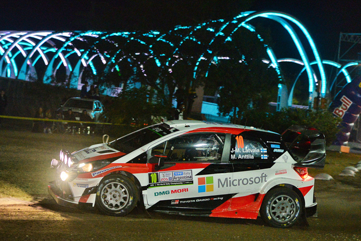 WRC アルゼンチン トヨタ