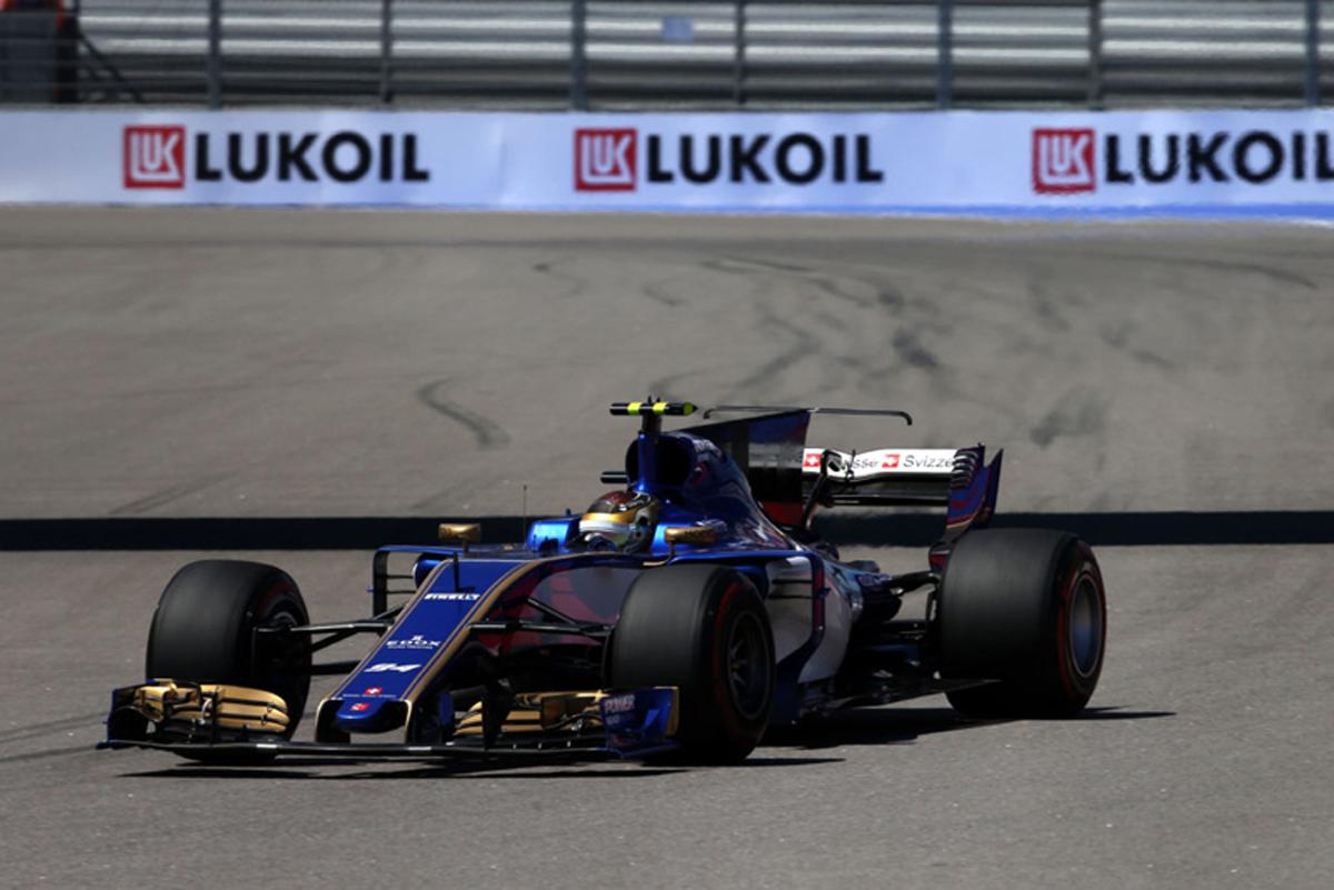 ザウバー F1 ロシアGP
