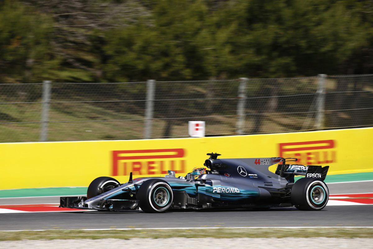 F1 スペインGP ハミルトンとボッタスが0.090秒差の接戦