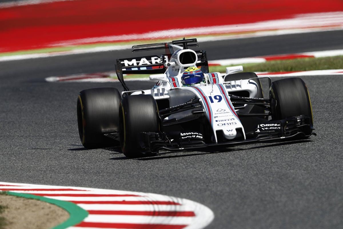 F1 スペインGP ウィリアムズ