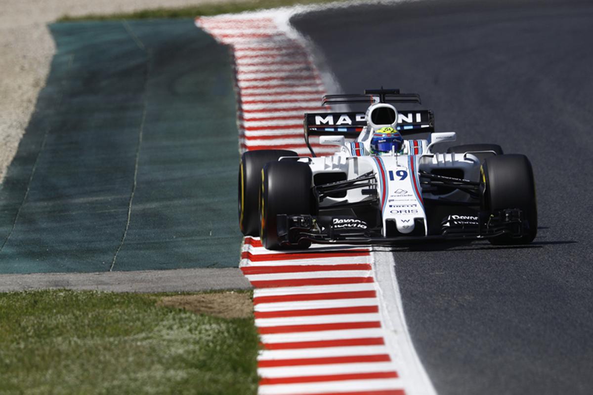 F1 スペインGP 予選 ウィリアムズ