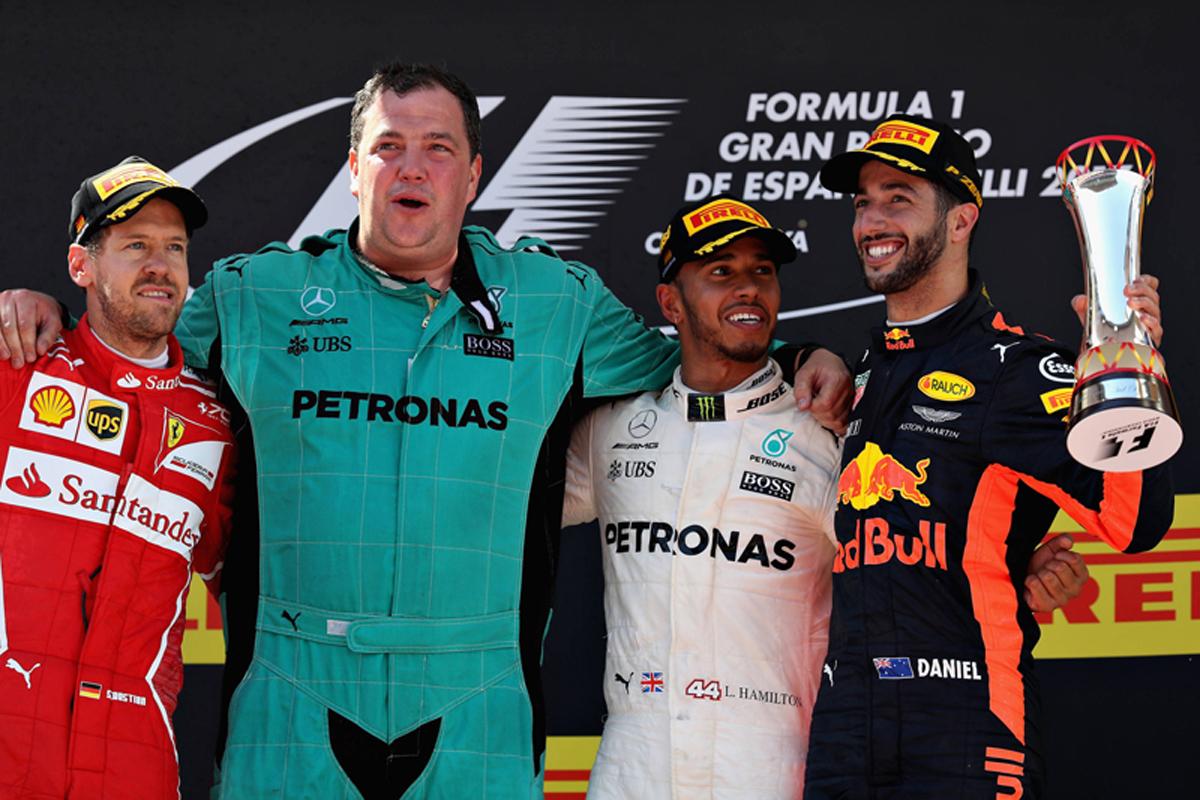 F1 スペインGP 決勝