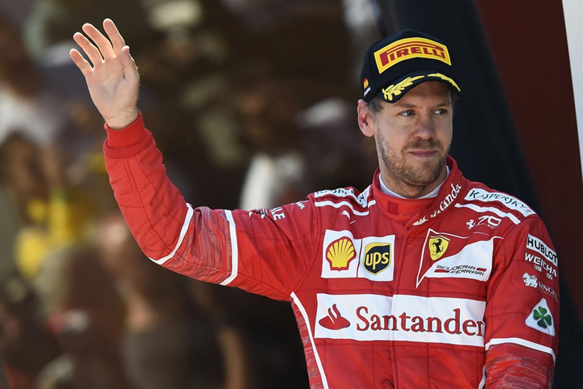 F1 スペインGP 決勝 フェラーリ