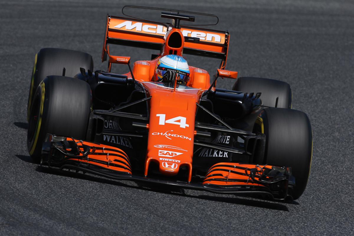マクラーレン・ホンダ F1 スペインGPl