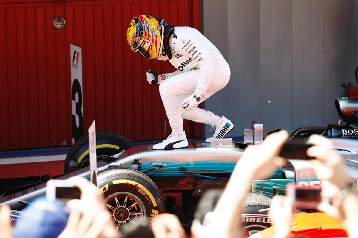 F1 スペインGP 決勝 メルセデス