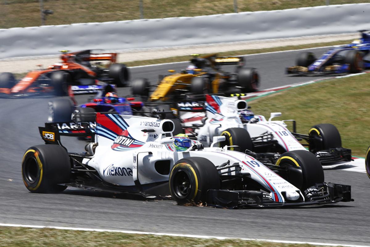 F1 スペインGP 決勝 ウィリアムズ