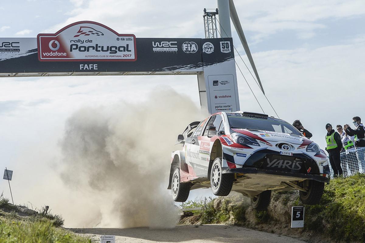 WRC ポルトガル トヨタ