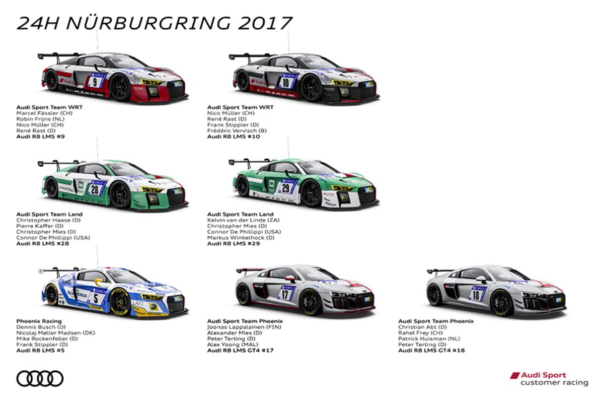 アウディ ニュルブルクリンク24時間耐久レース