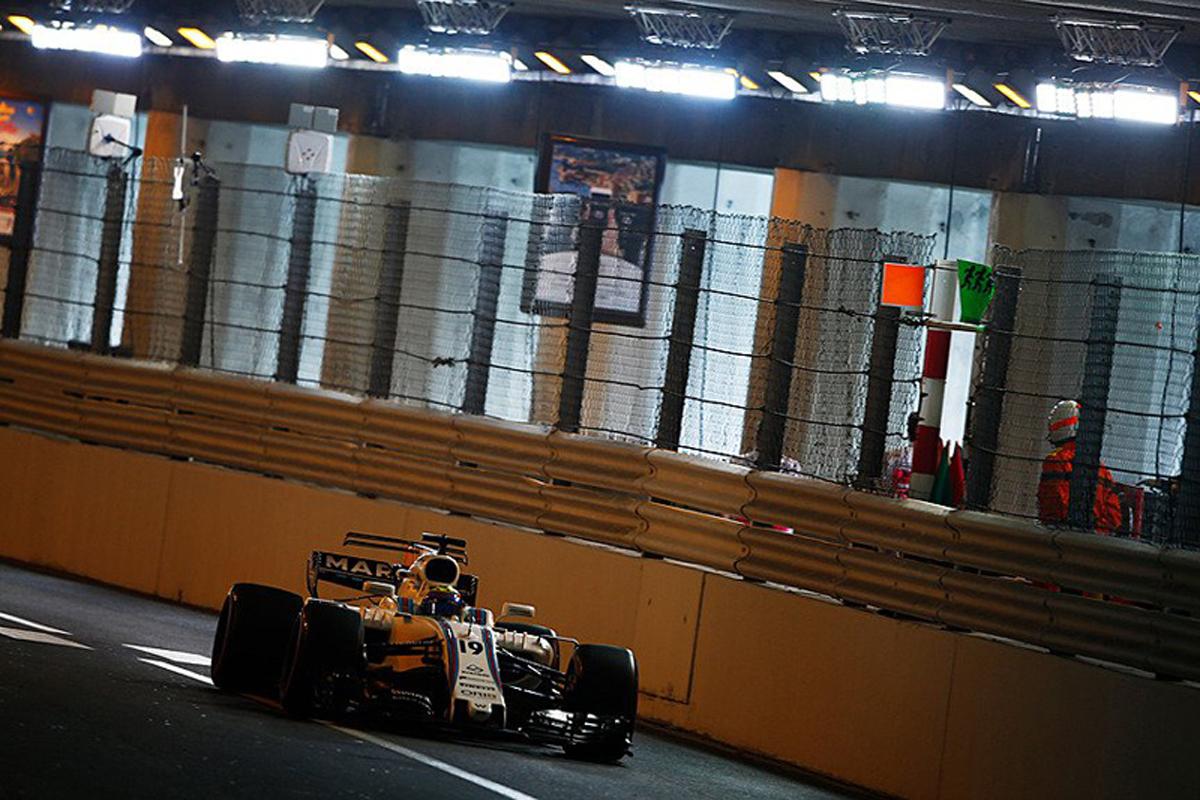 ウィリアムズ F1 モナコGP