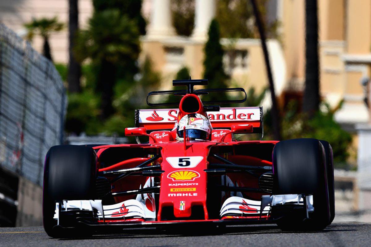 F1 モナコGP セバスチャン・ベッテル