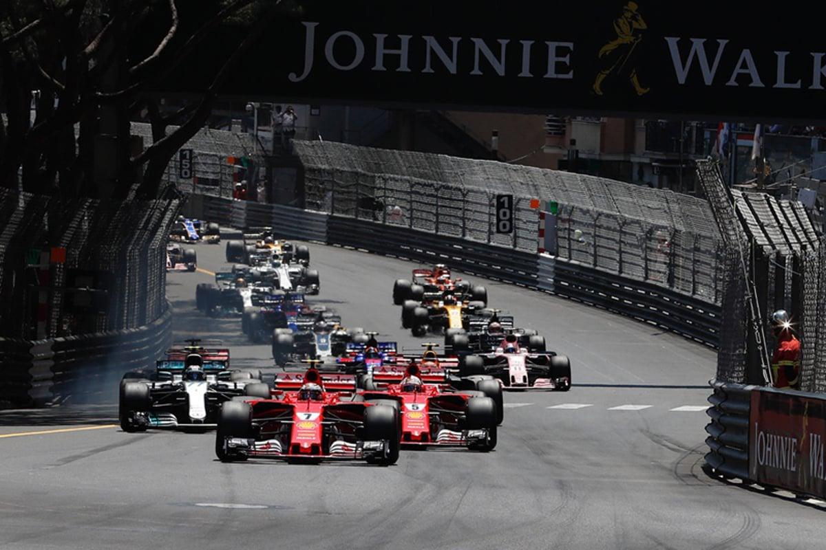 F1 モナコGP 結果 セバスチャン・ベッテル フェラーリが1-2