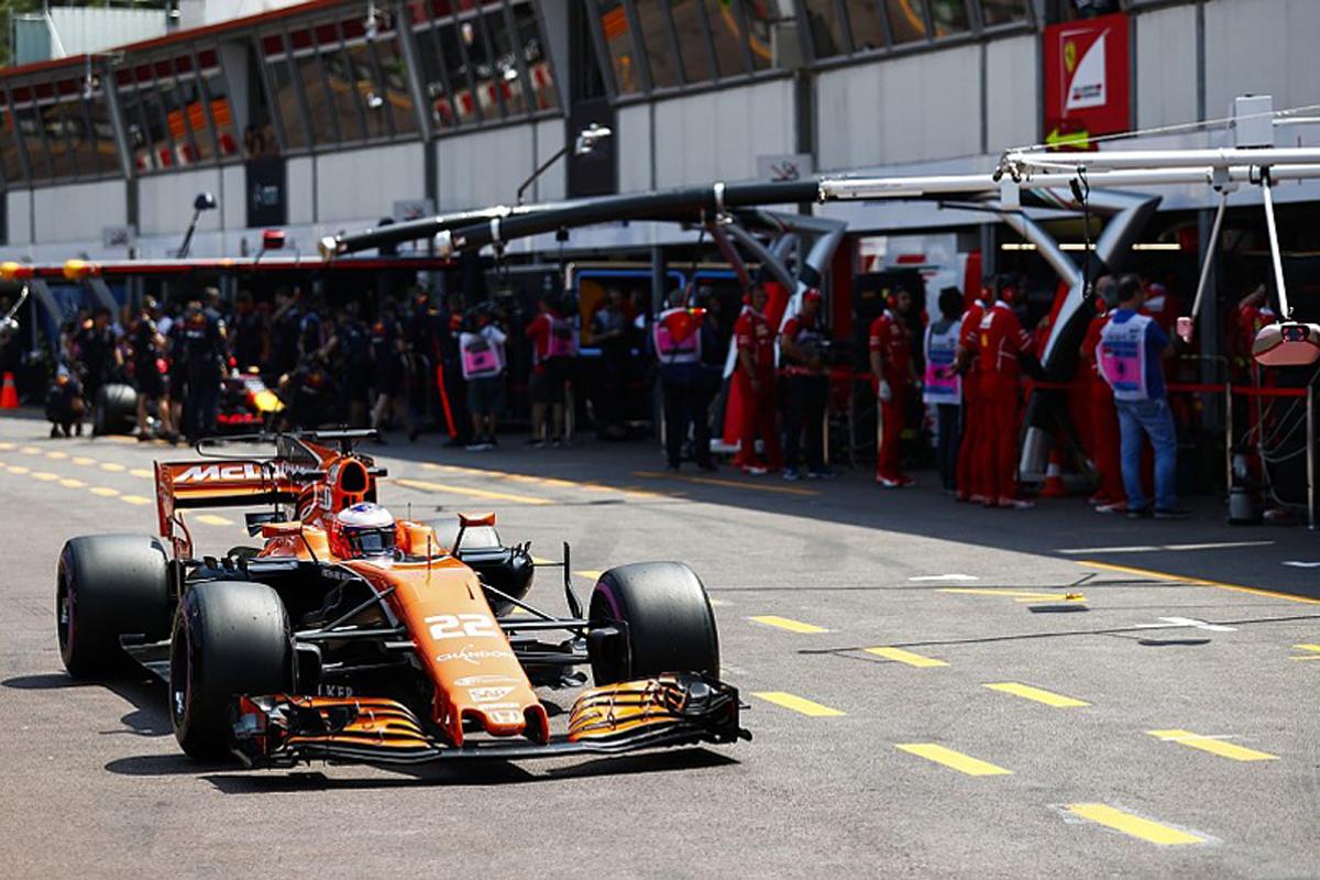 ジェンソン・バトン F1 モナコGP マクラーレン・ホンダ