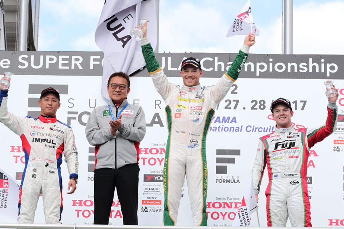スーパーフォーミュラ 第2戦 岡山 レース1