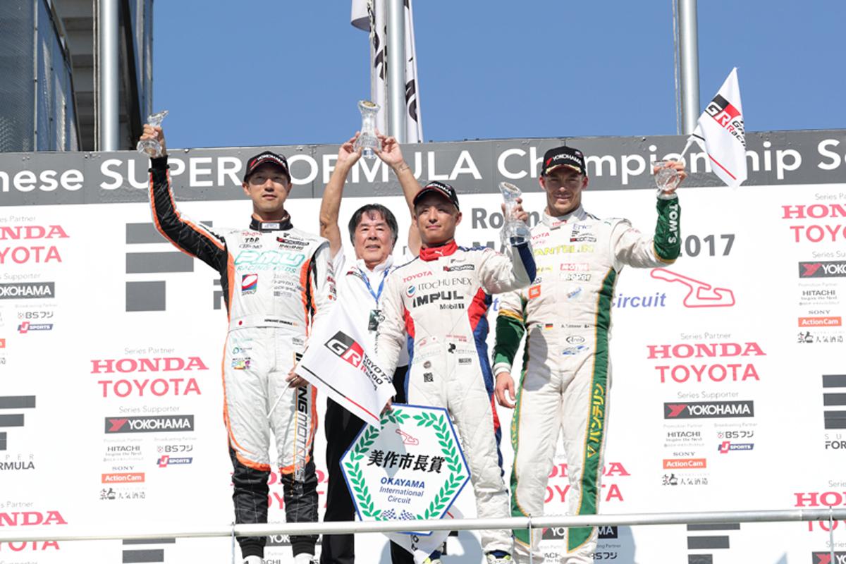 スーパーフォーミュラ 第2戦 岡山 レース2