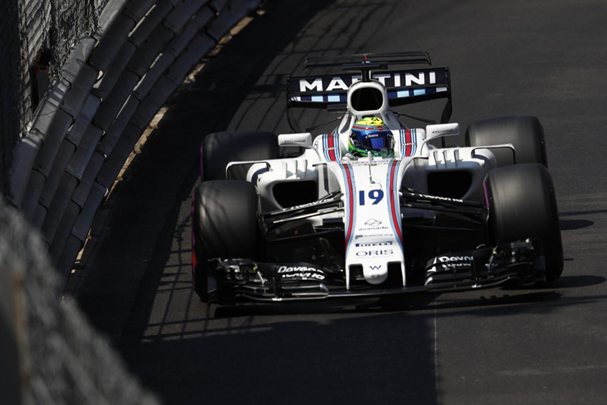 F1 モナコGP 決勝 ウィリアムズ