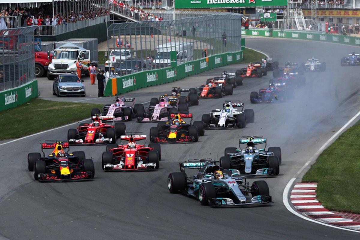 F1 カナダGP ルイス・ハミルトン