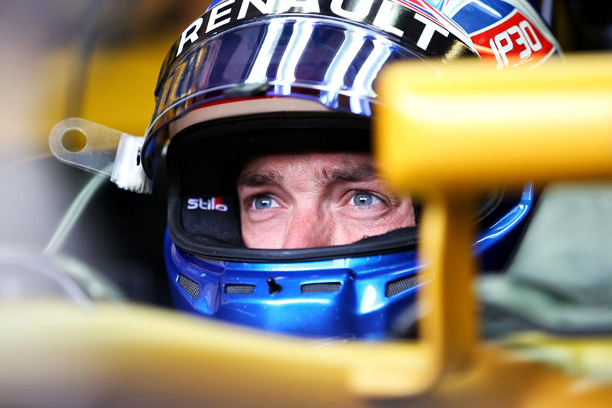 ジョリオン・パーマー ルノー F1