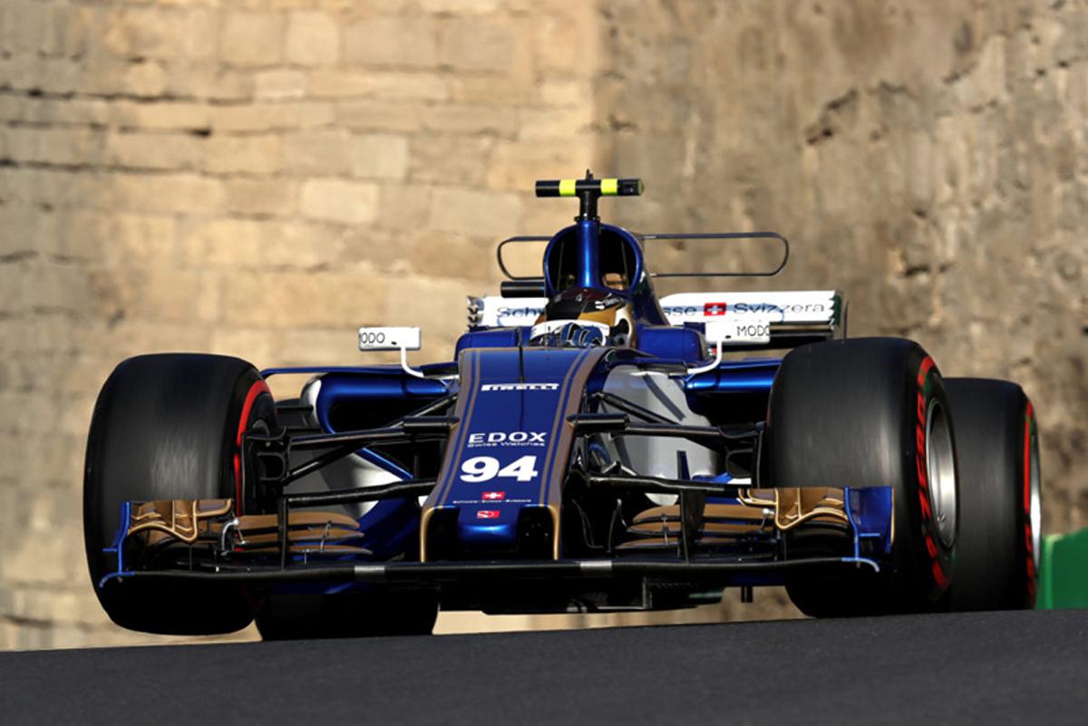ザウバー F1 アゼルバイジャンGP