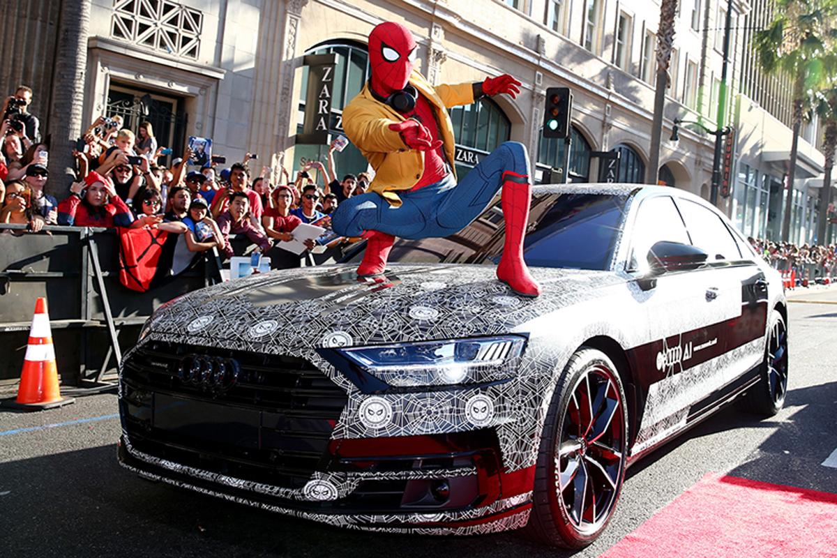 アウディ 新型A8 スパイダーマン:ホームカミング