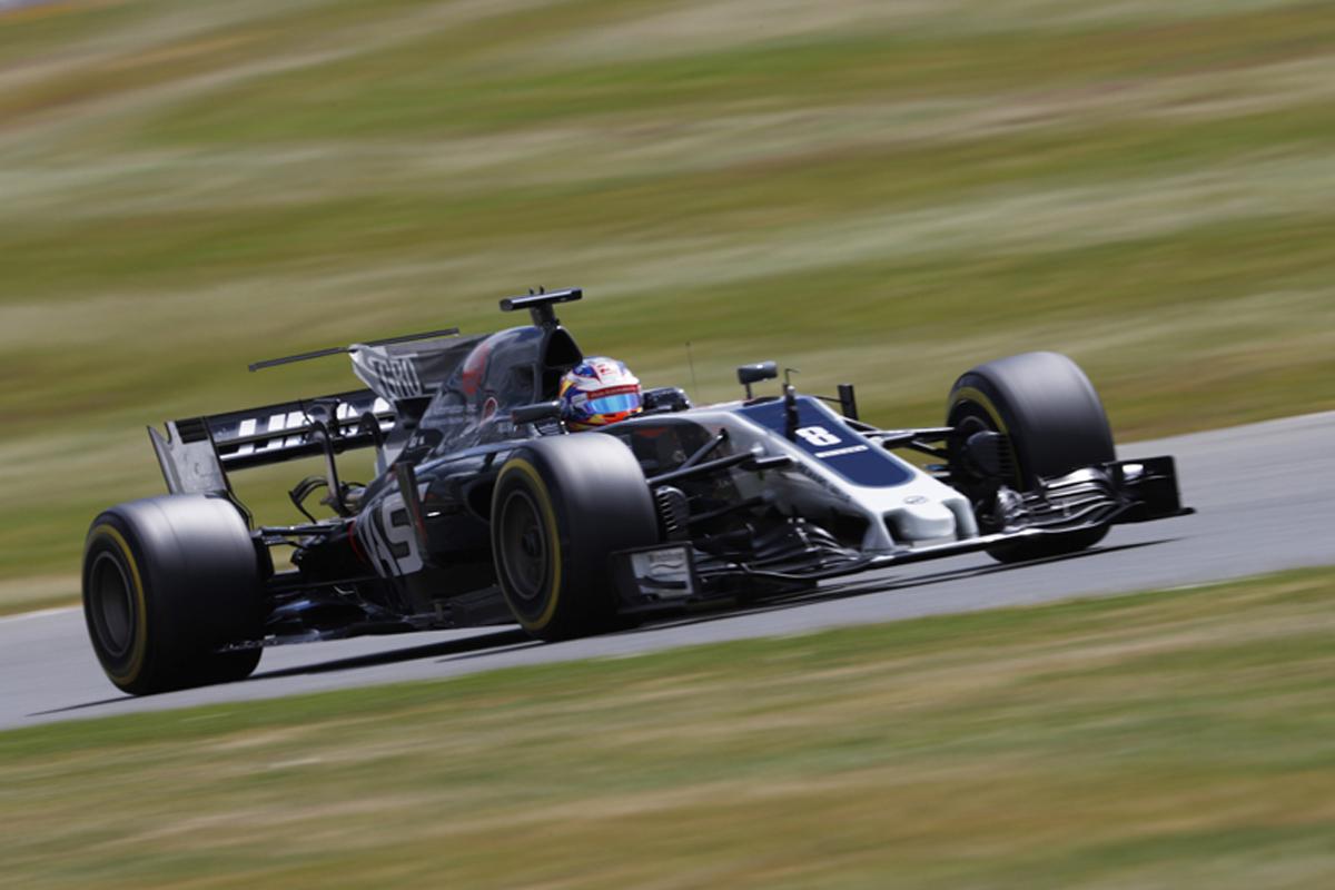 ハース F1 イギリスグランプリ