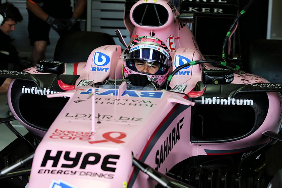 フォース・インディア F1 セルジオ・ペレス