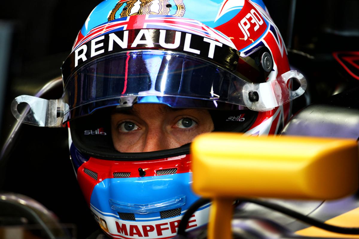 ジョリオン・パーマー F1 ハンガリーグランプリ