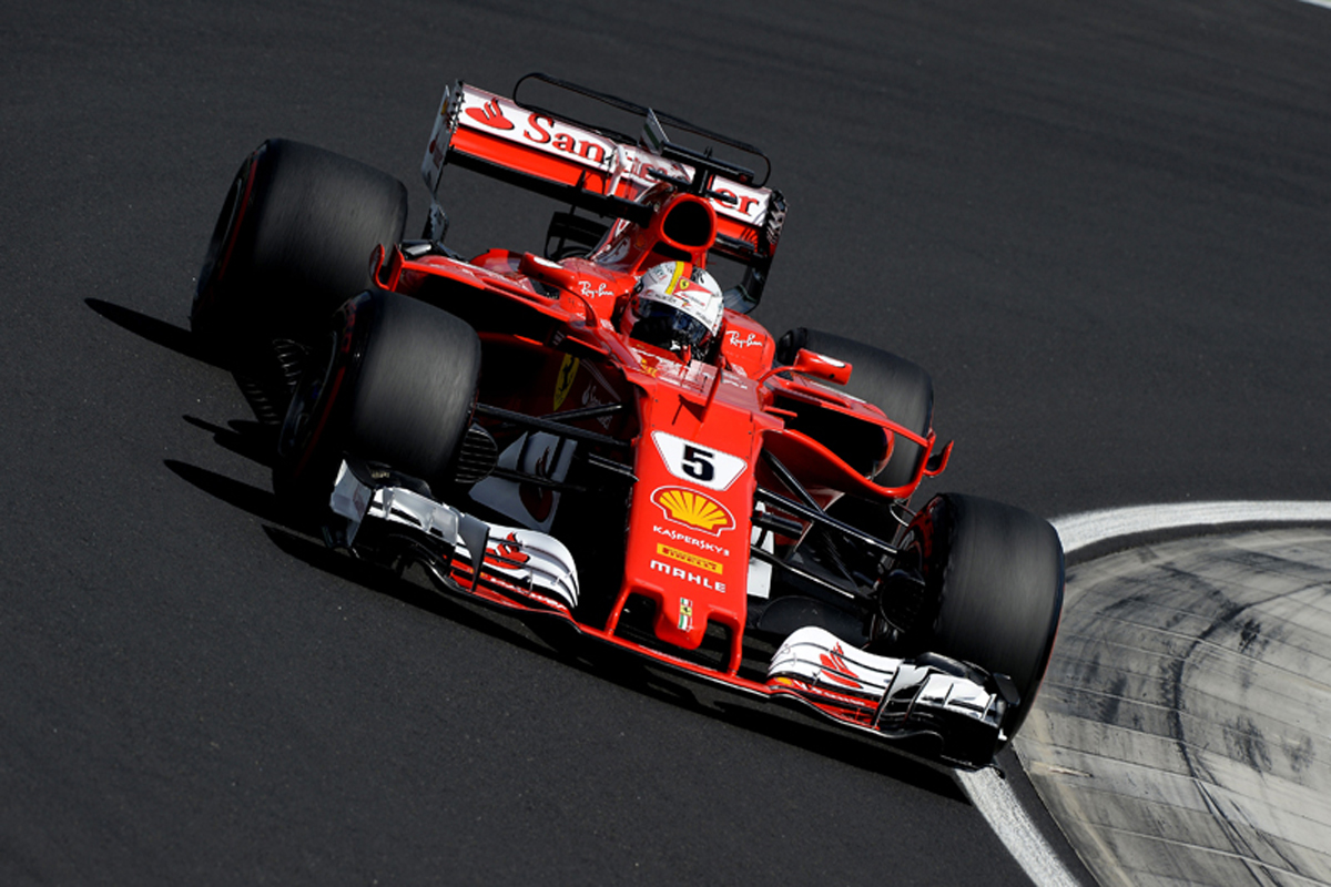 F1 ハンガリーグランプリ セバスチャン・ベッテル