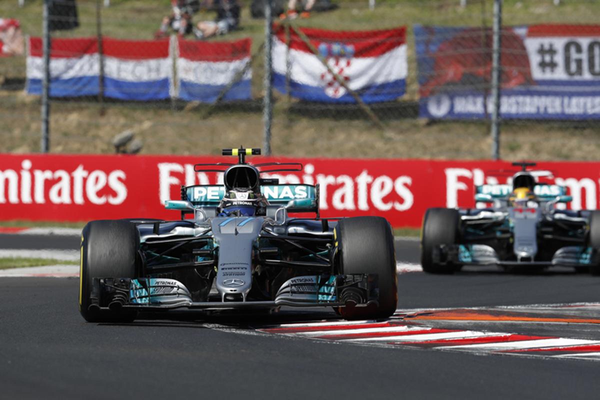 メルセデス F1 ハンガリーグランプリ