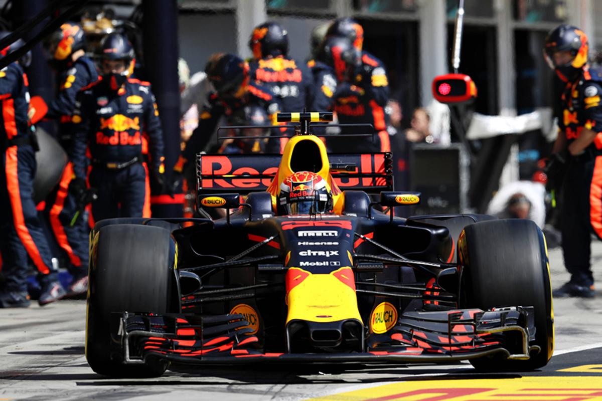 レッドブル F1 ハンガリーグランプリ