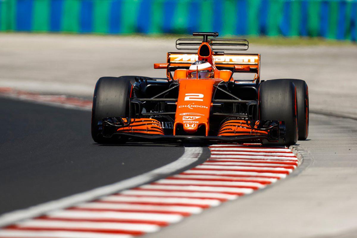F1 ハンガリーテスト マクラーレン・ホンダ