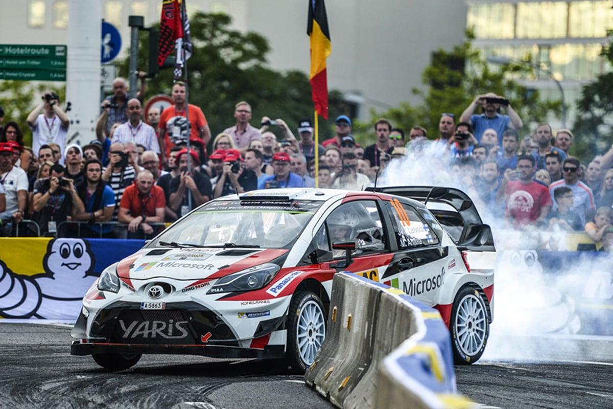 WRC 世界ラリー選手権 トヨタ自動車
