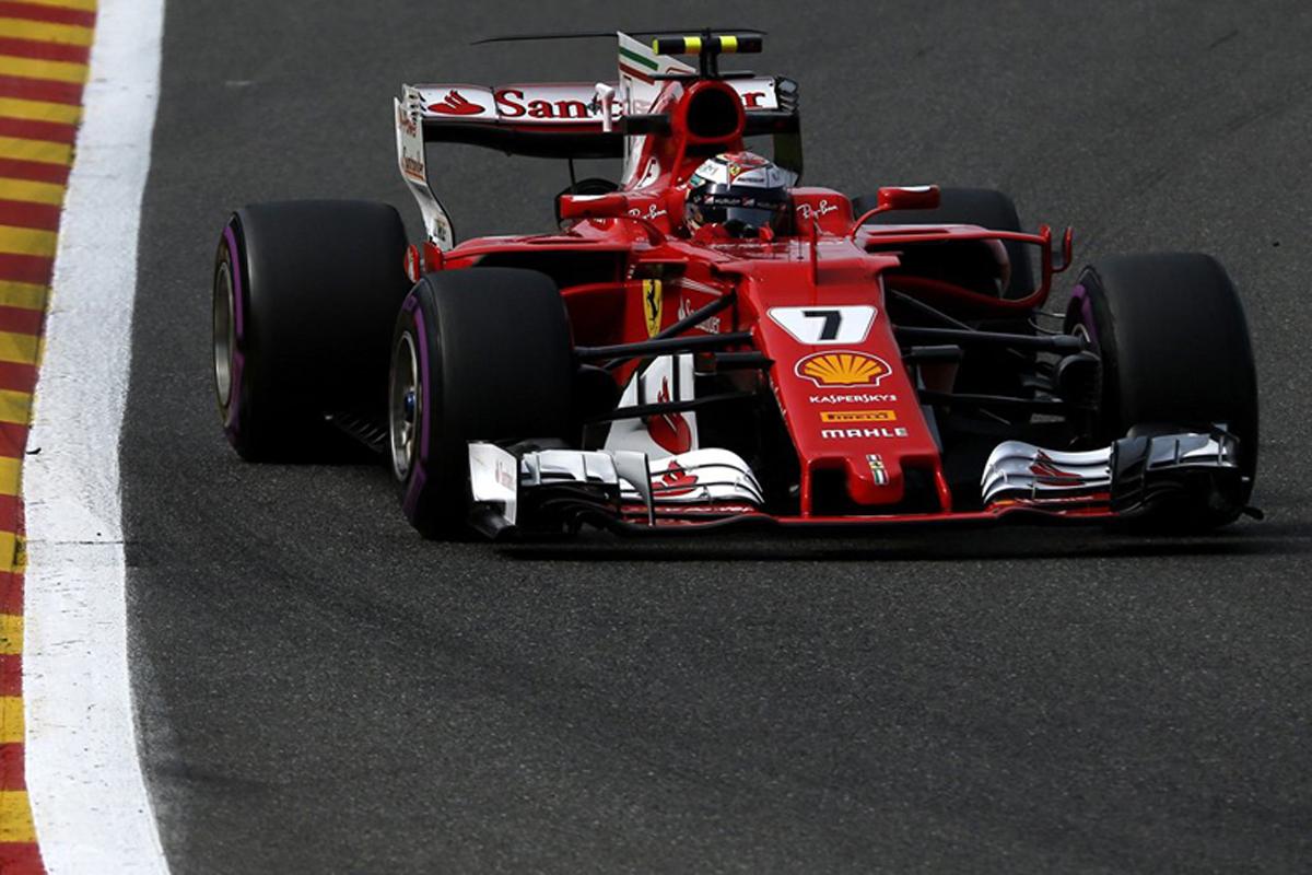 F1 ベルギーグランプリ キミ・ライコネン