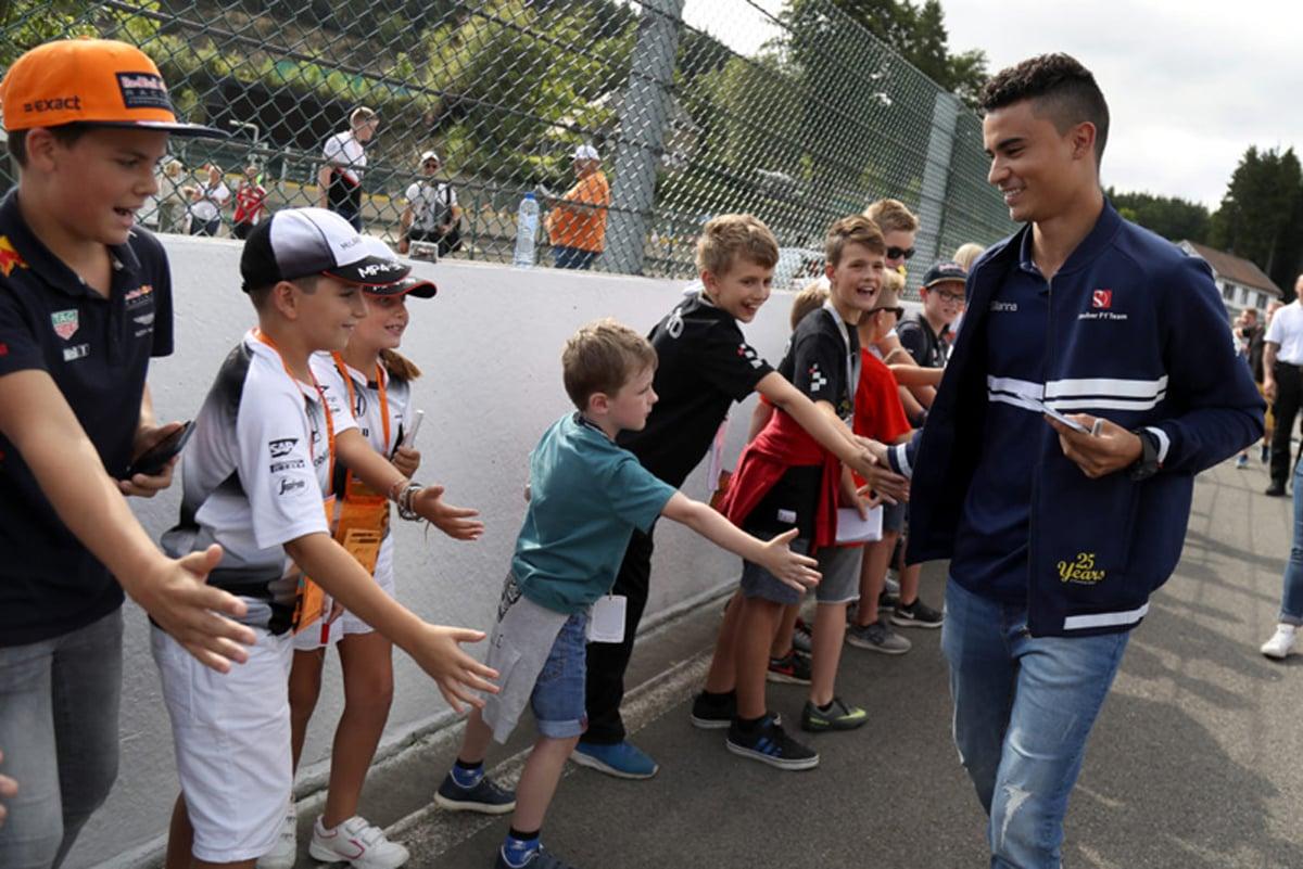 パスカル・ウェーレイン F1 ベルギーグランプリ