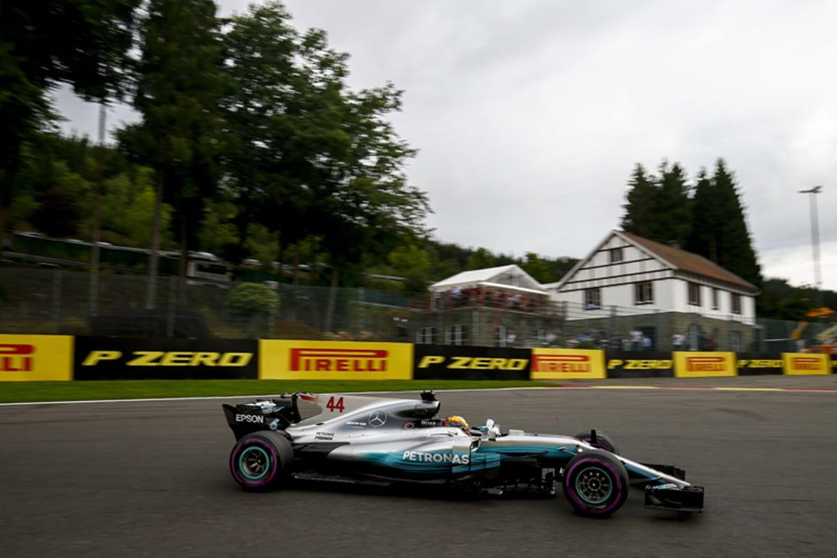 F1 ベルギーグランプリ ルイス・ハミルトン