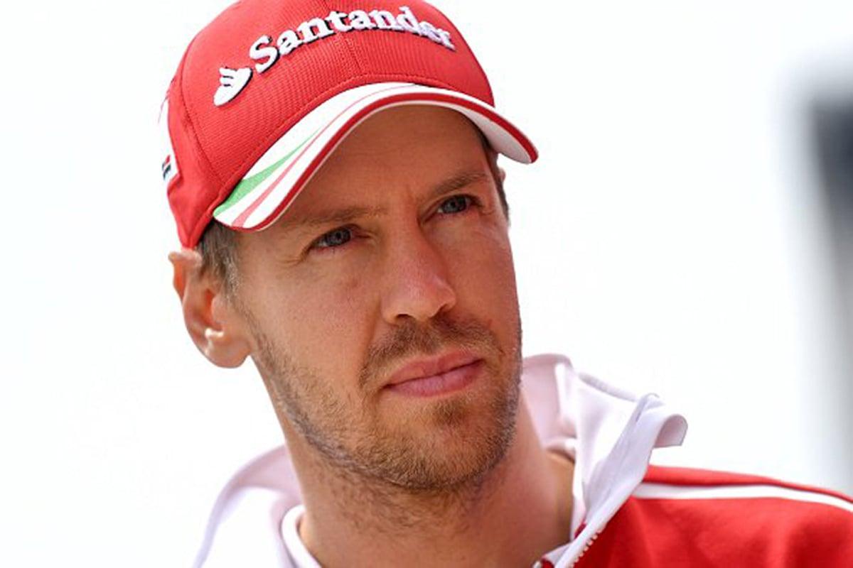 セバスチャン・ベッテル フェラーリ F1